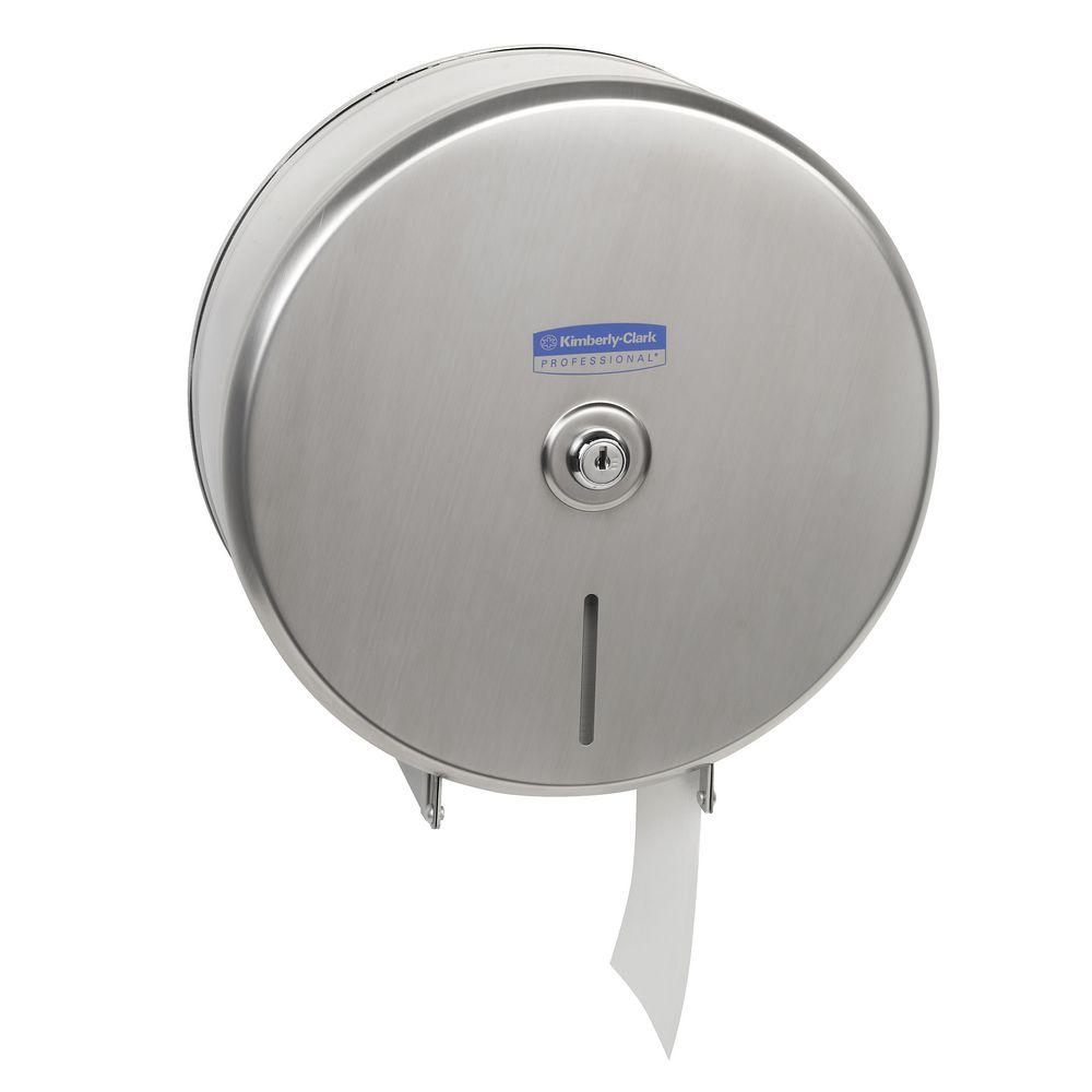 KimberleyClark Jumbo Roll Toilet Tissue Dispenser Officeworks