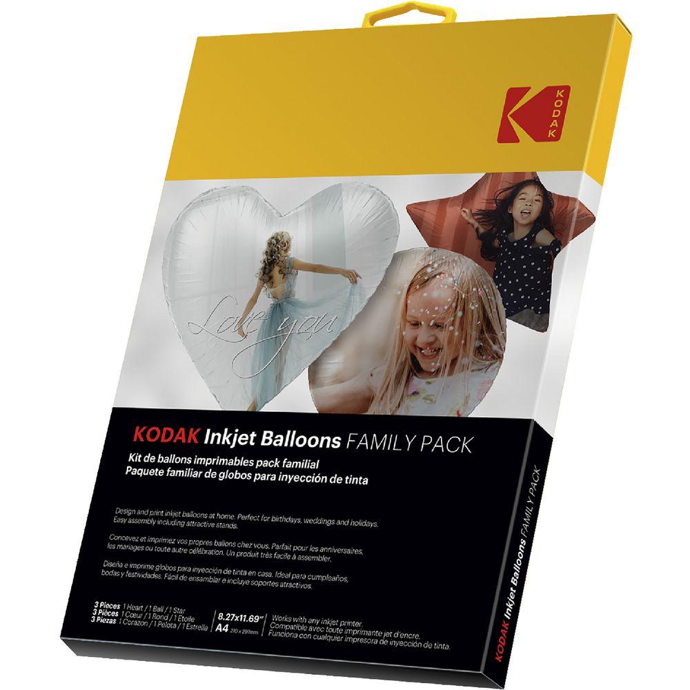 photo regarding Printable Balloons identify Kodak A4 Inkjet Printable Balloons 3 Pack