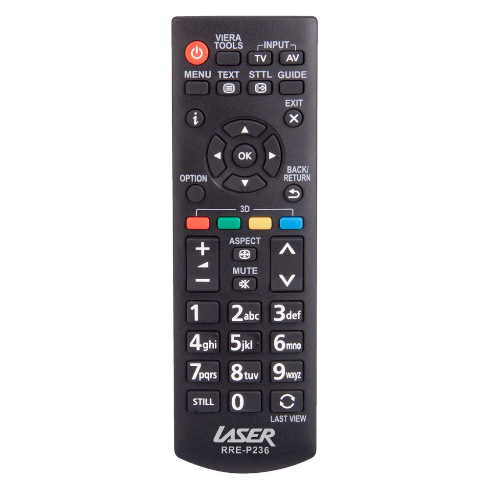 Laser Replacement Panasonic Remote Control