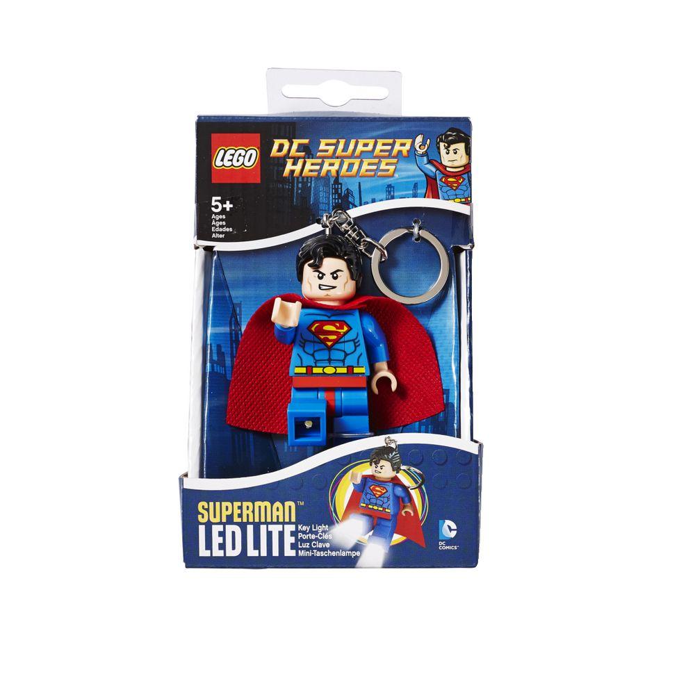Lego superhero key light superman officeworks for Bureau 39 superman
