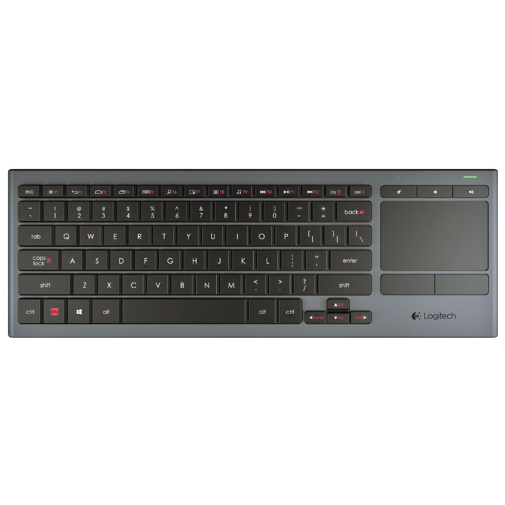 Logitech R1 Illuminated Living Room Keyboard K830