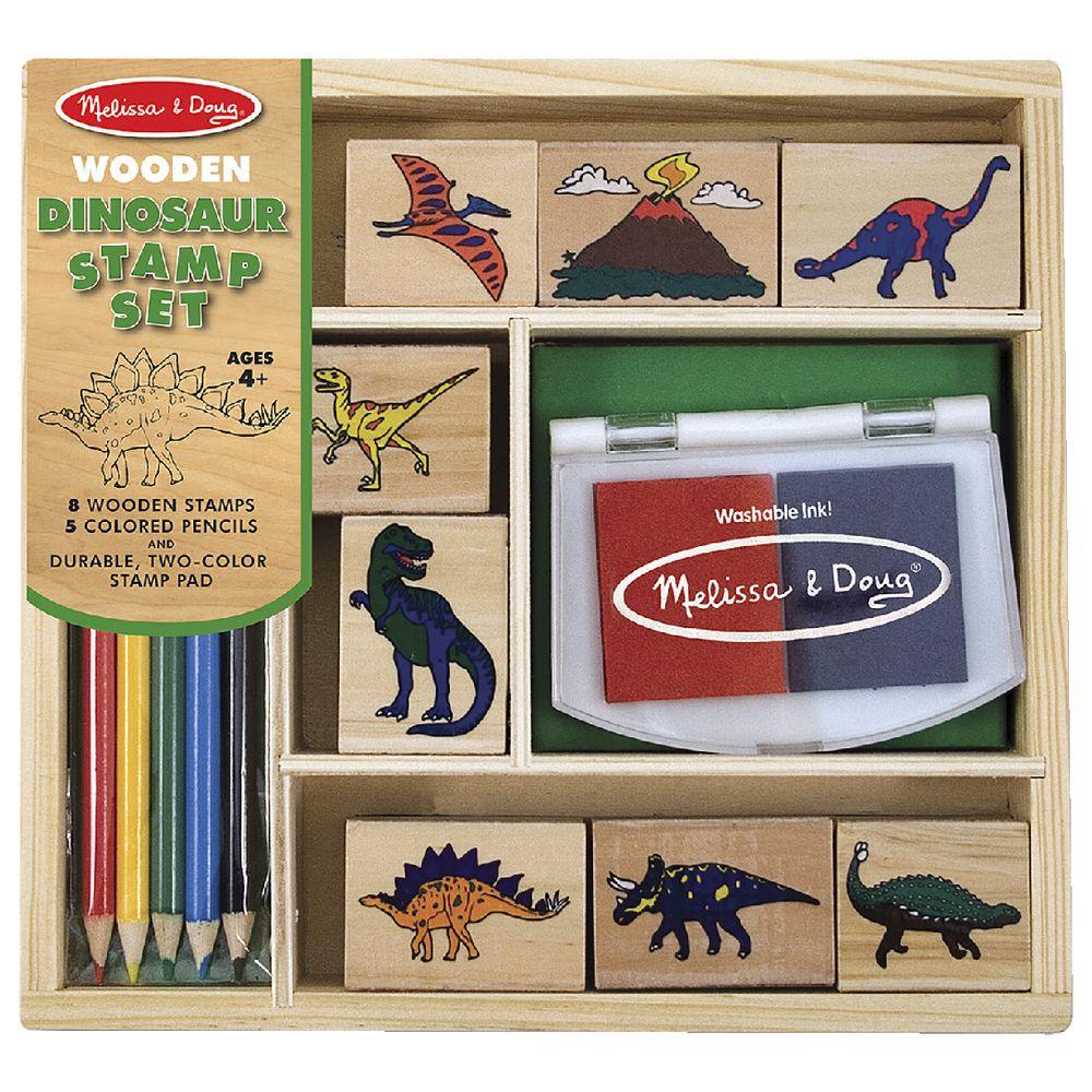 Dinosaur Stamp Set | Stay At Home Mum