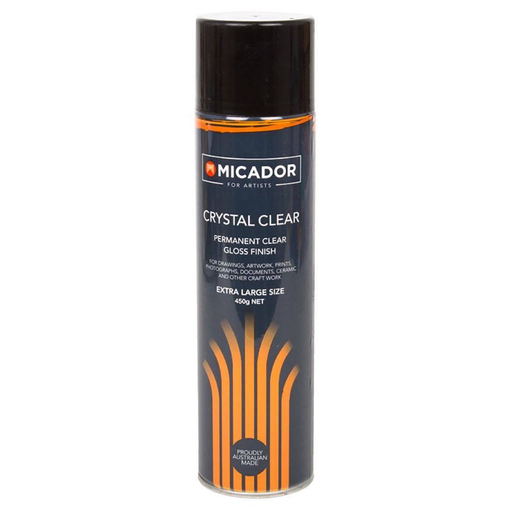 Micador for Artists Crystal Clear Spray 450g