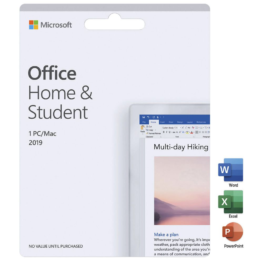 Microsoft office for mac home & student 2016