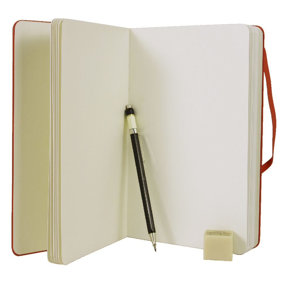 Hardcover Drawing Book : Moleskine classic hard cover large sketch book red