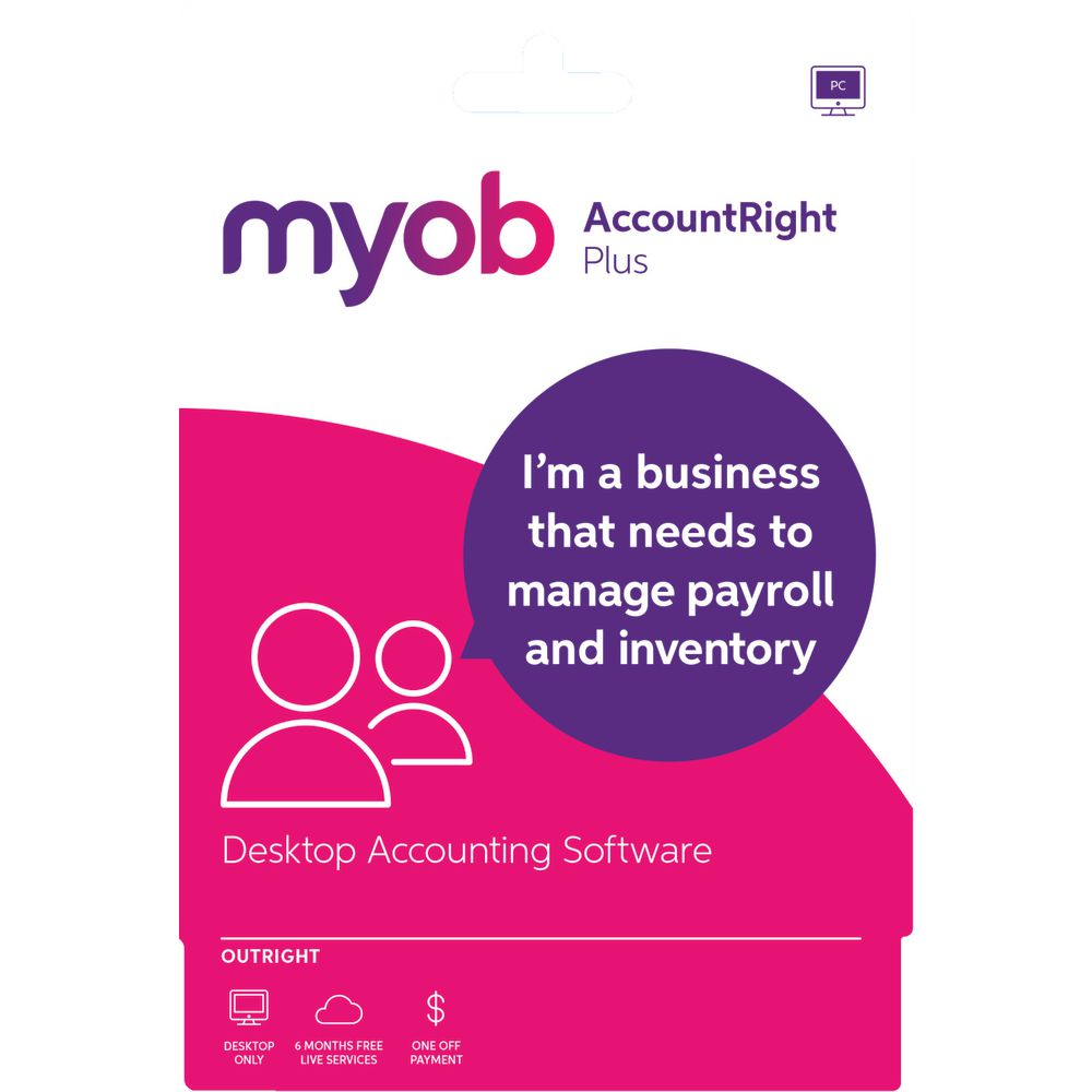 MYOB AccountRight Plus 1 PC Download | Officeworks