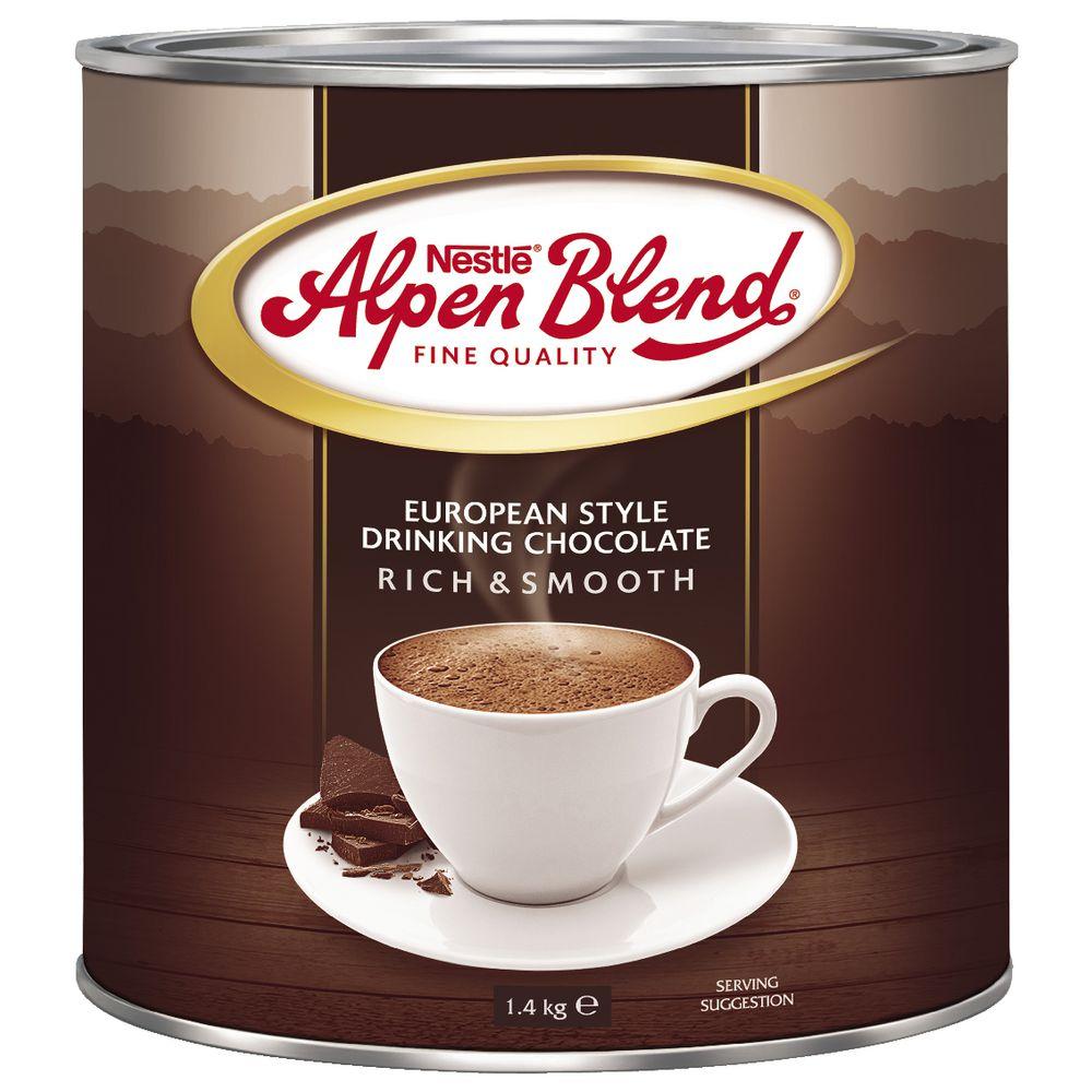 Nestle Alpen Blend Drinking Chocolate 1.4kg   Officeworks