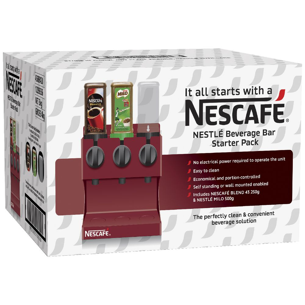 Nestle Beverage Bar Starter Pack | Officeworks