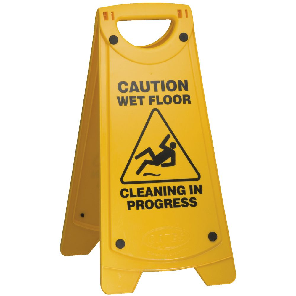 Safety wet floor signs gurus floor for Floor banner
