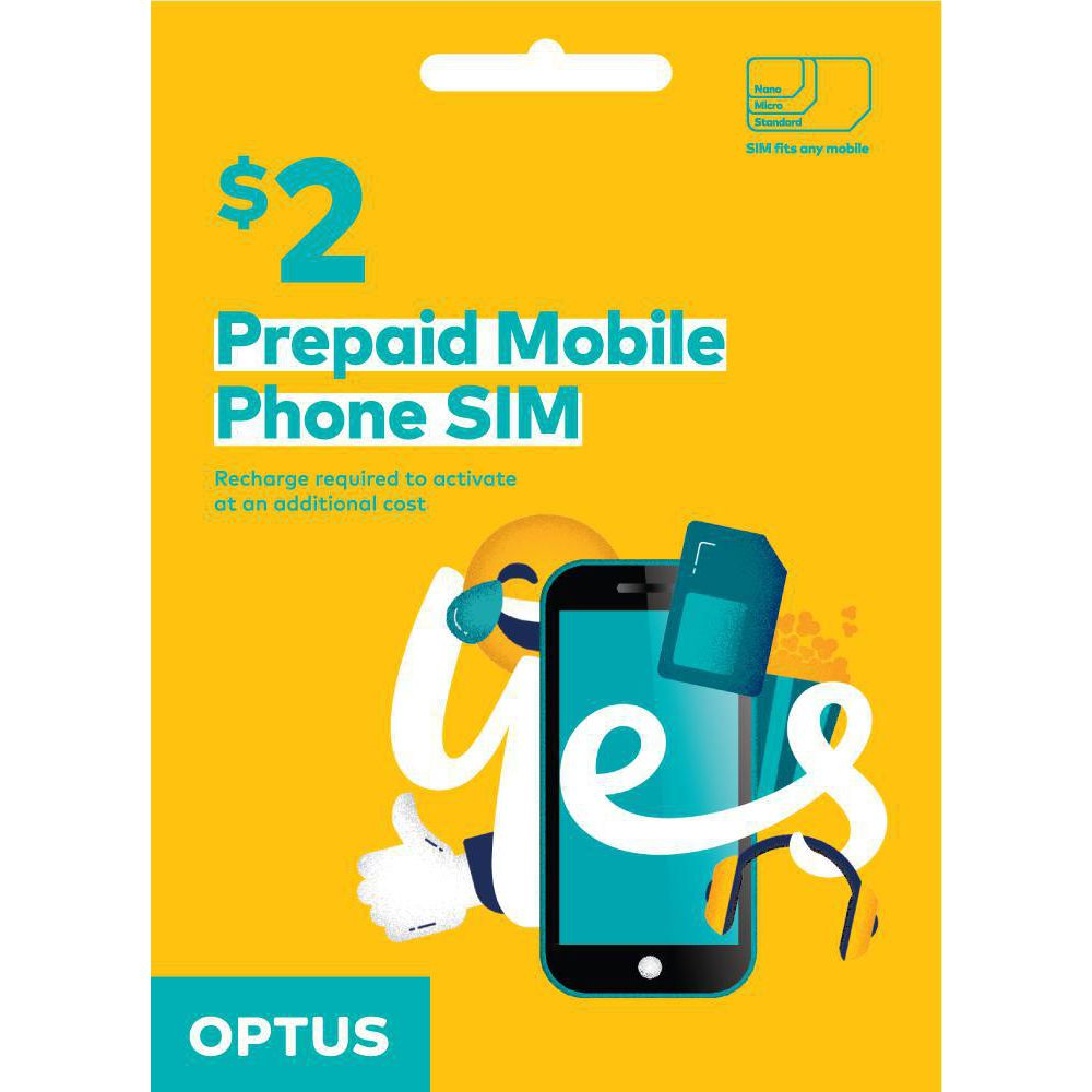 Optus $2 Voice Triple SIM Starter Kit