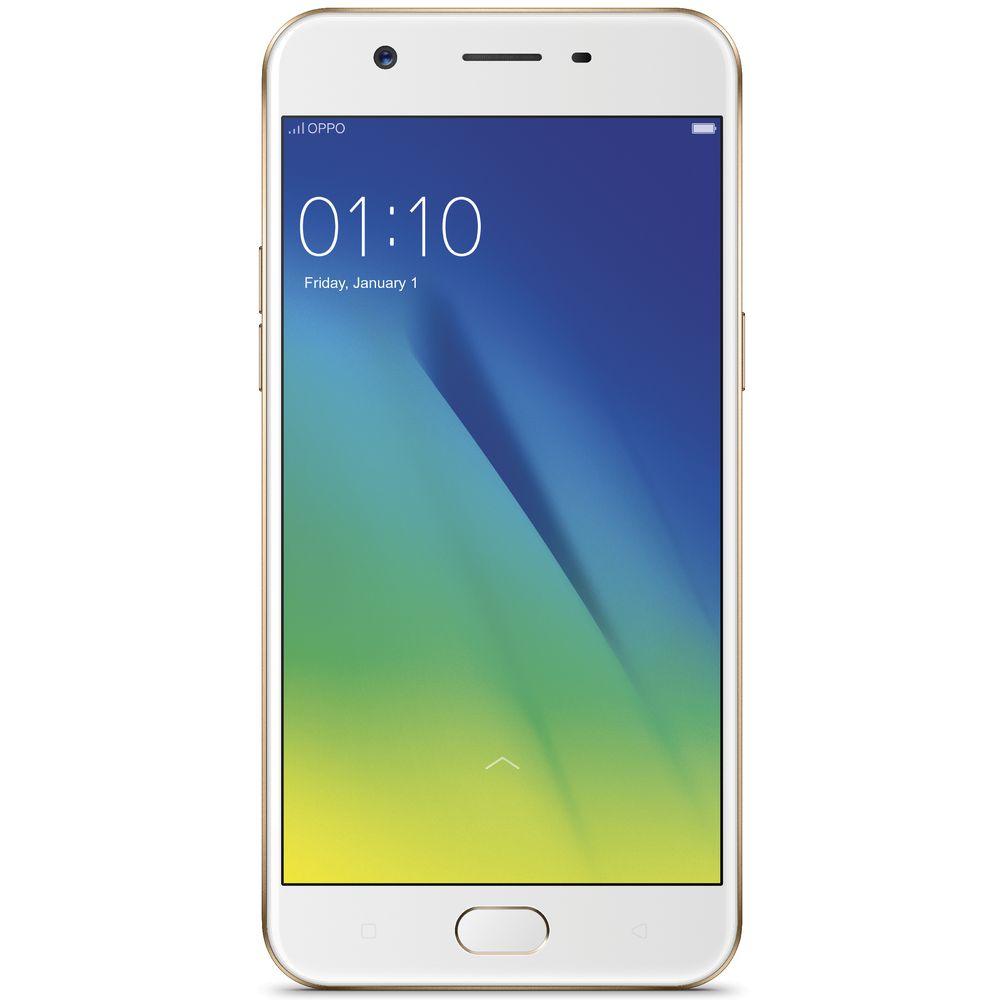 Oppo A57 Unlocked Mobile Phone Gold Officeworks