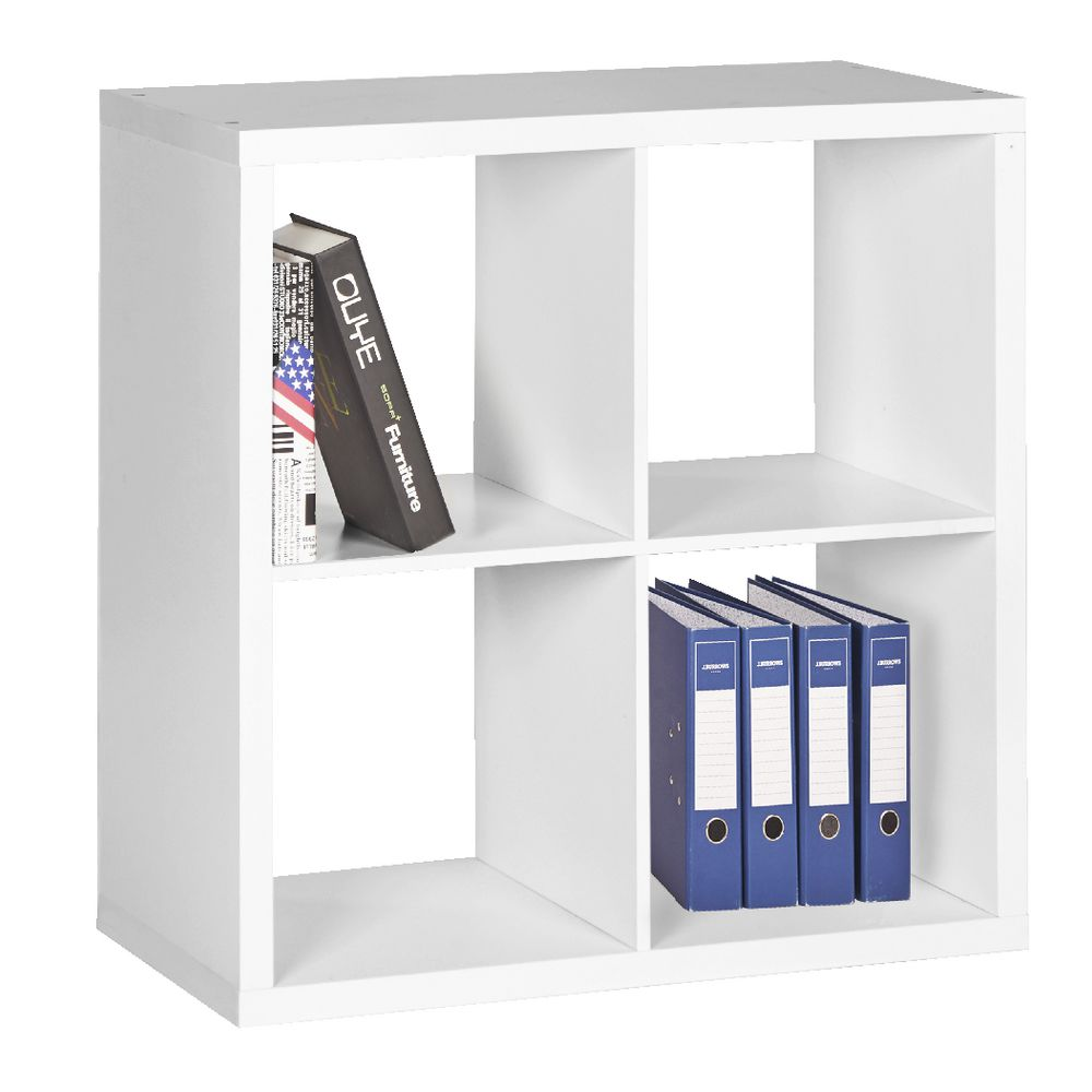 Horsens 4 Cube Bookcase | Officeworks