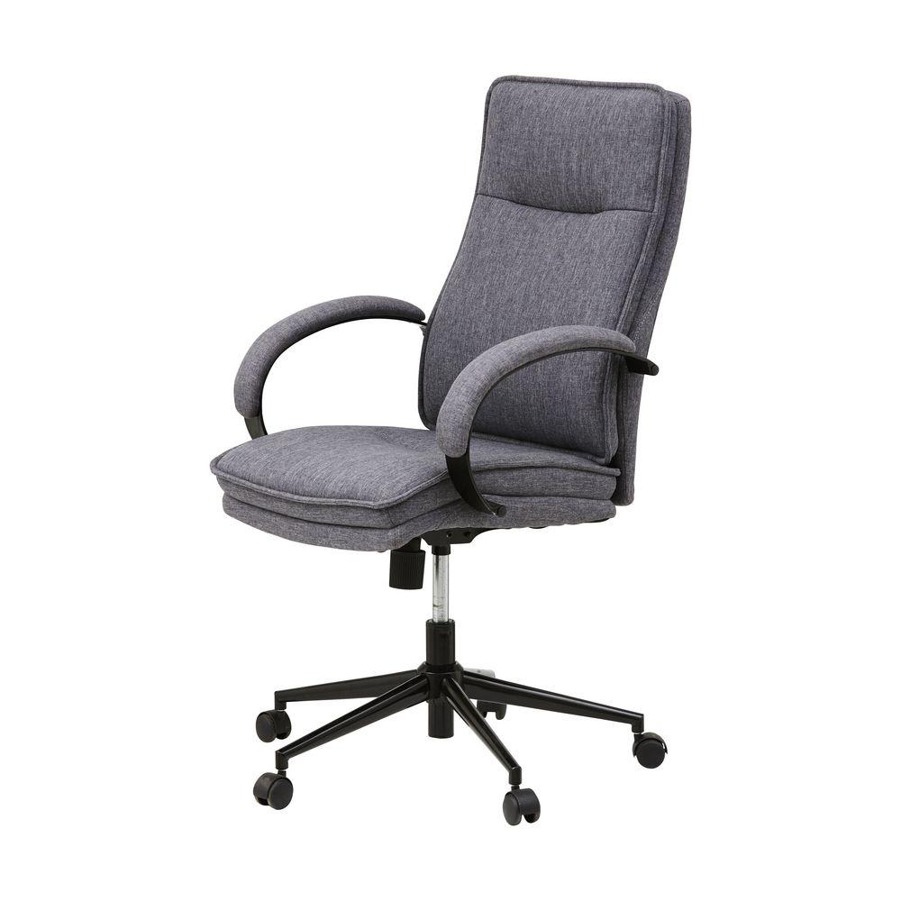 kalmar chair grey  officeworks - kalmar chair grey
