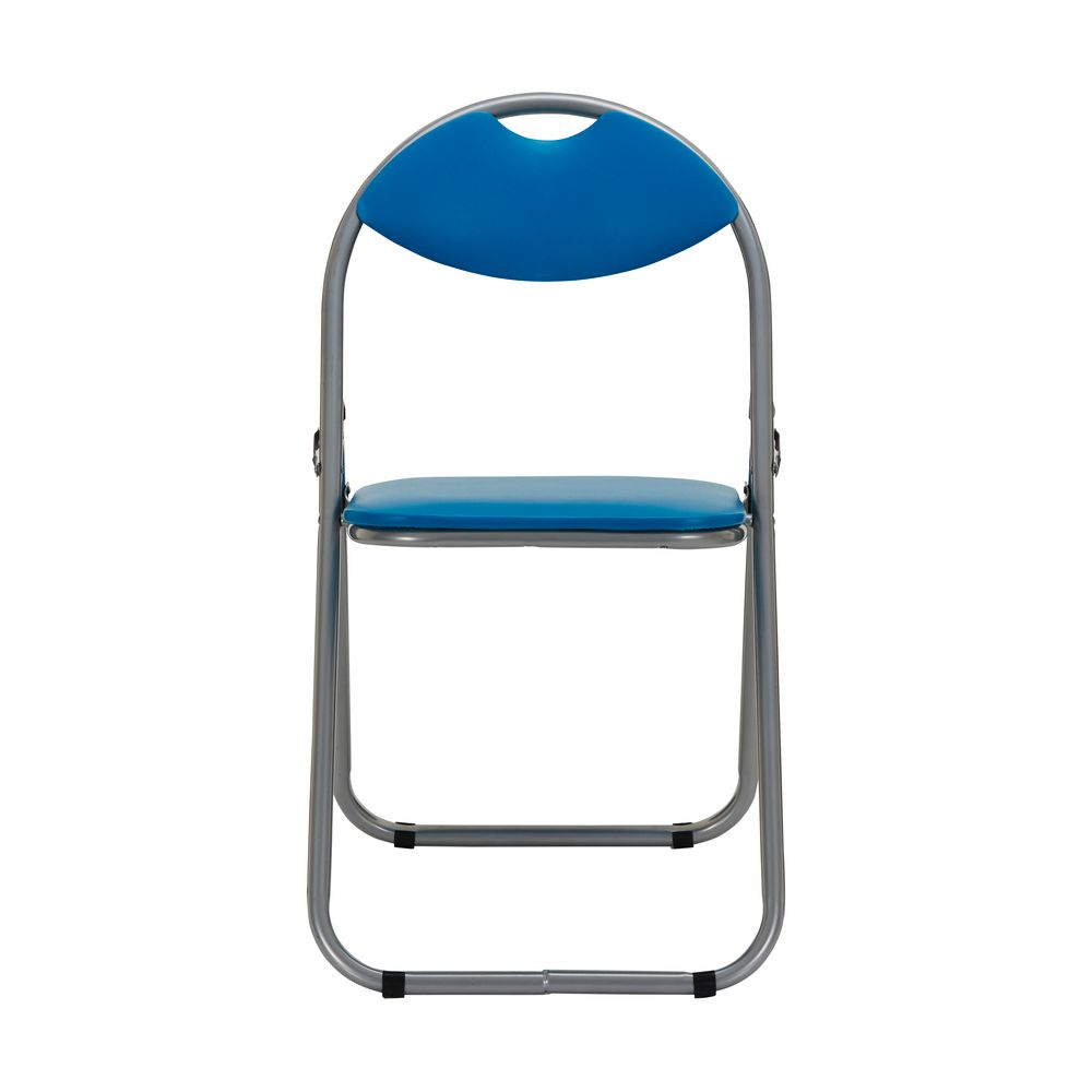 padded folding chair blue - Padded Folding Chairs