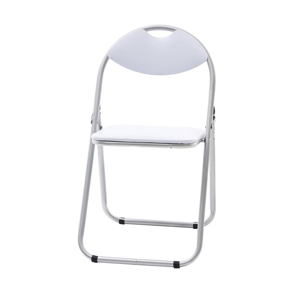 padded folding chair white - Padded Folding Chairs