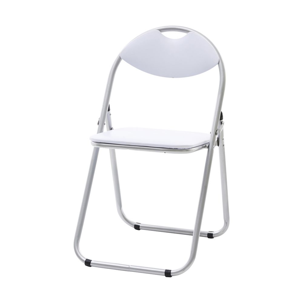 Padded Folding Chair White