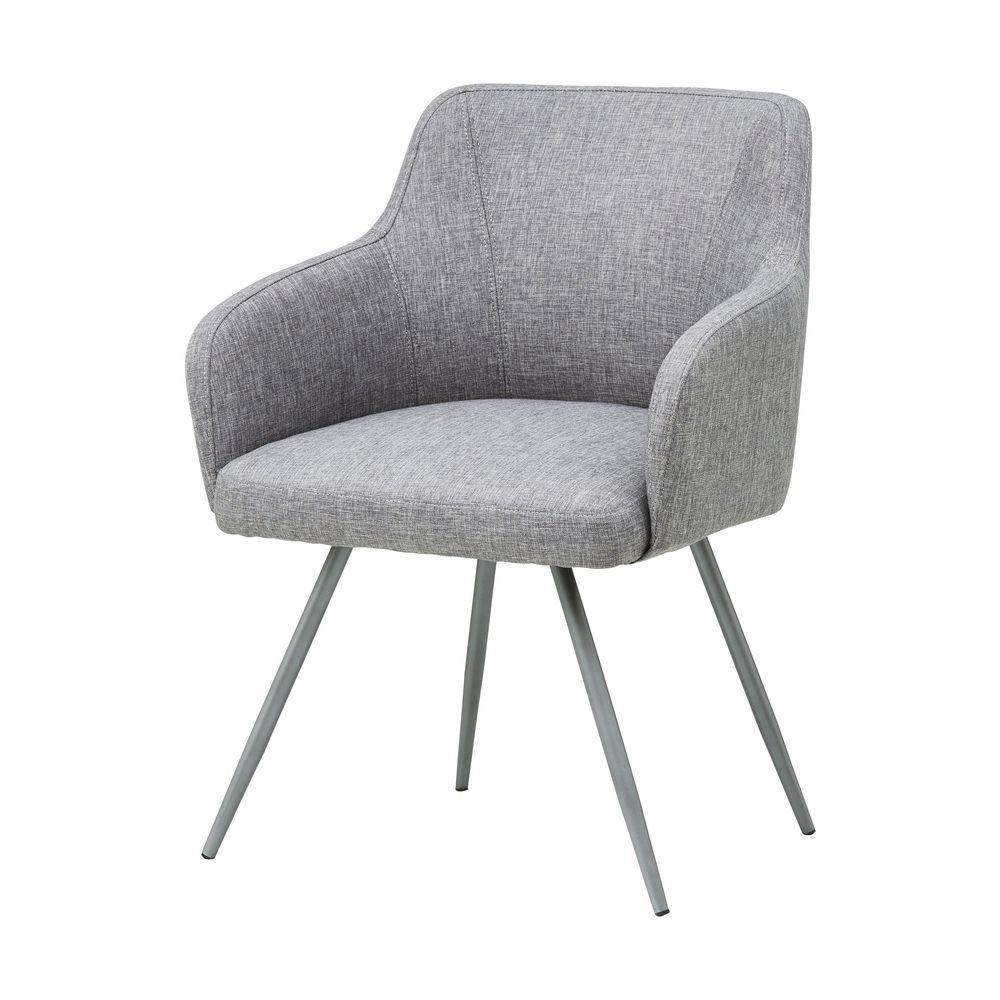 skagen visitors chair grey  officeworks - skagen visitors chair grey