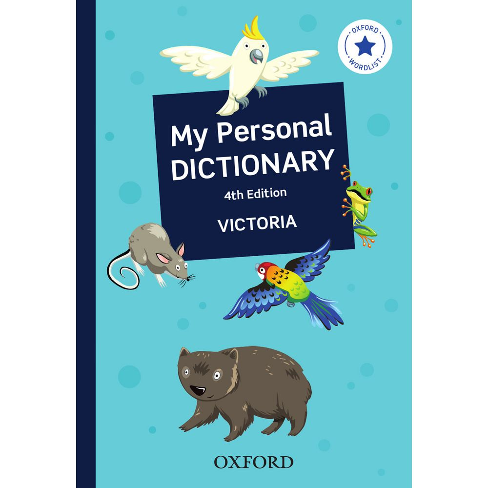 Oxford My Personal Dictionary VIC 4th Edition   Officeworks