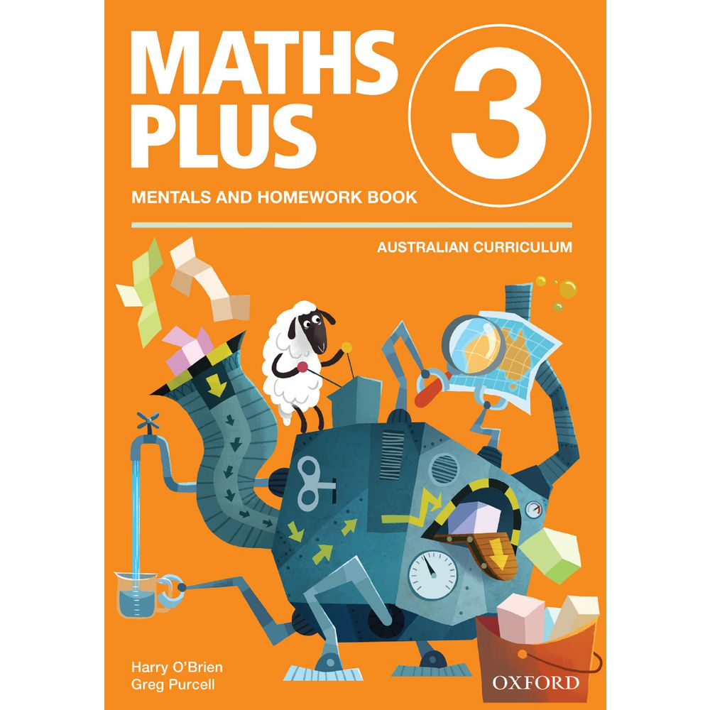 maths plus mentals homework book year 2