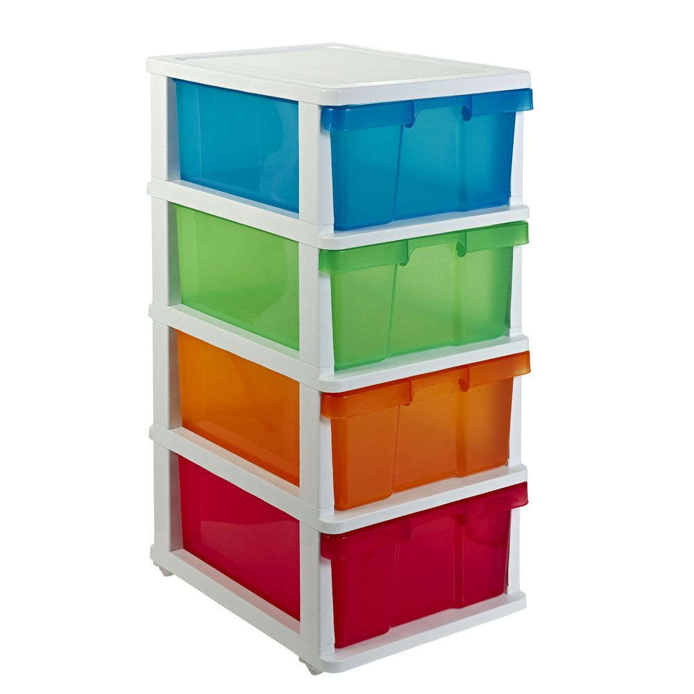 Clip Art 3 Plastic Storage Drawer Cliparts