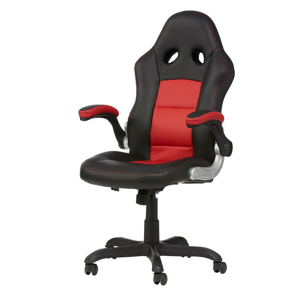 Bathurst Chair RedBathurst Chair Red   Officeworks. Office Racer Chair. Home Design Ideas