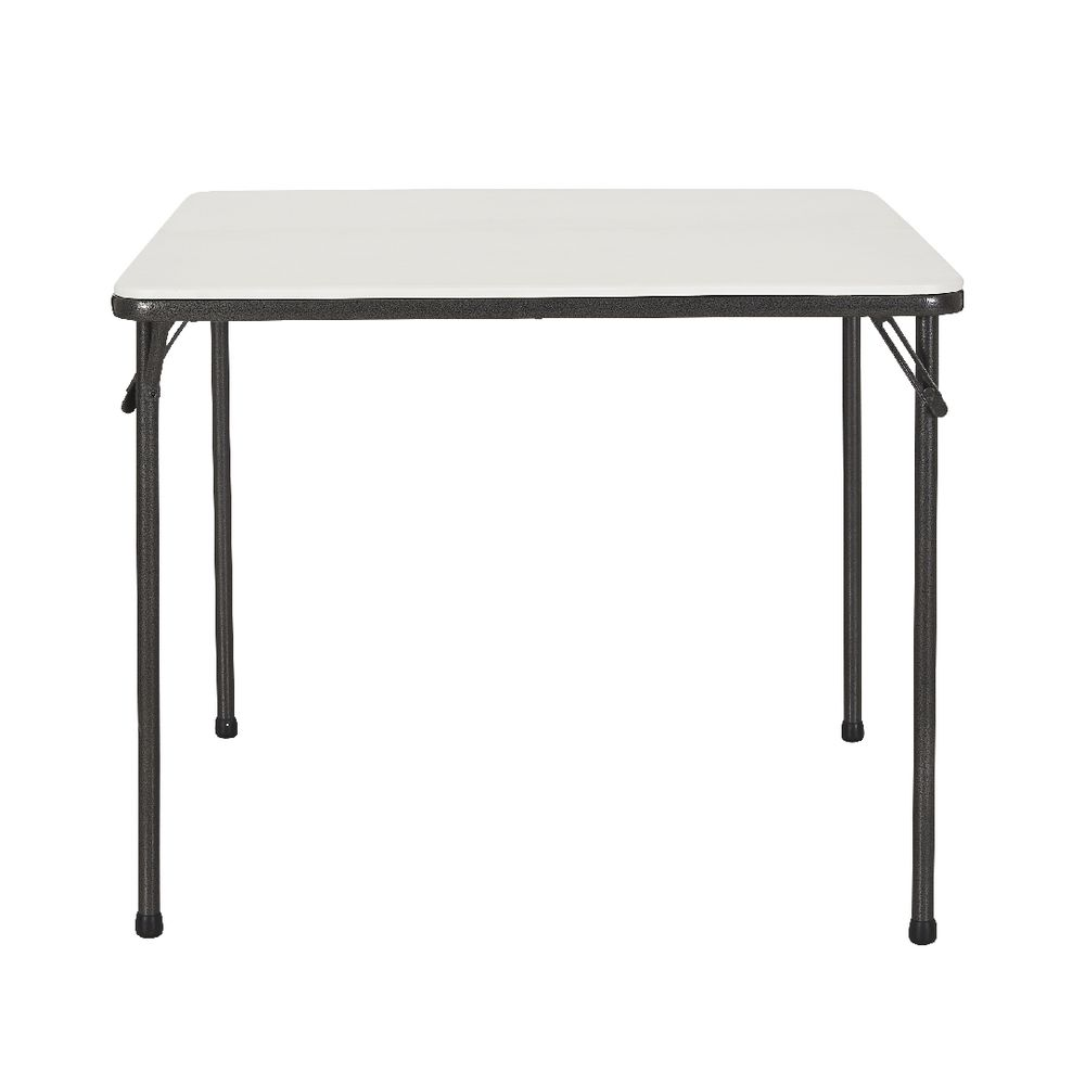 square bifold table  officeworks - square bifold table