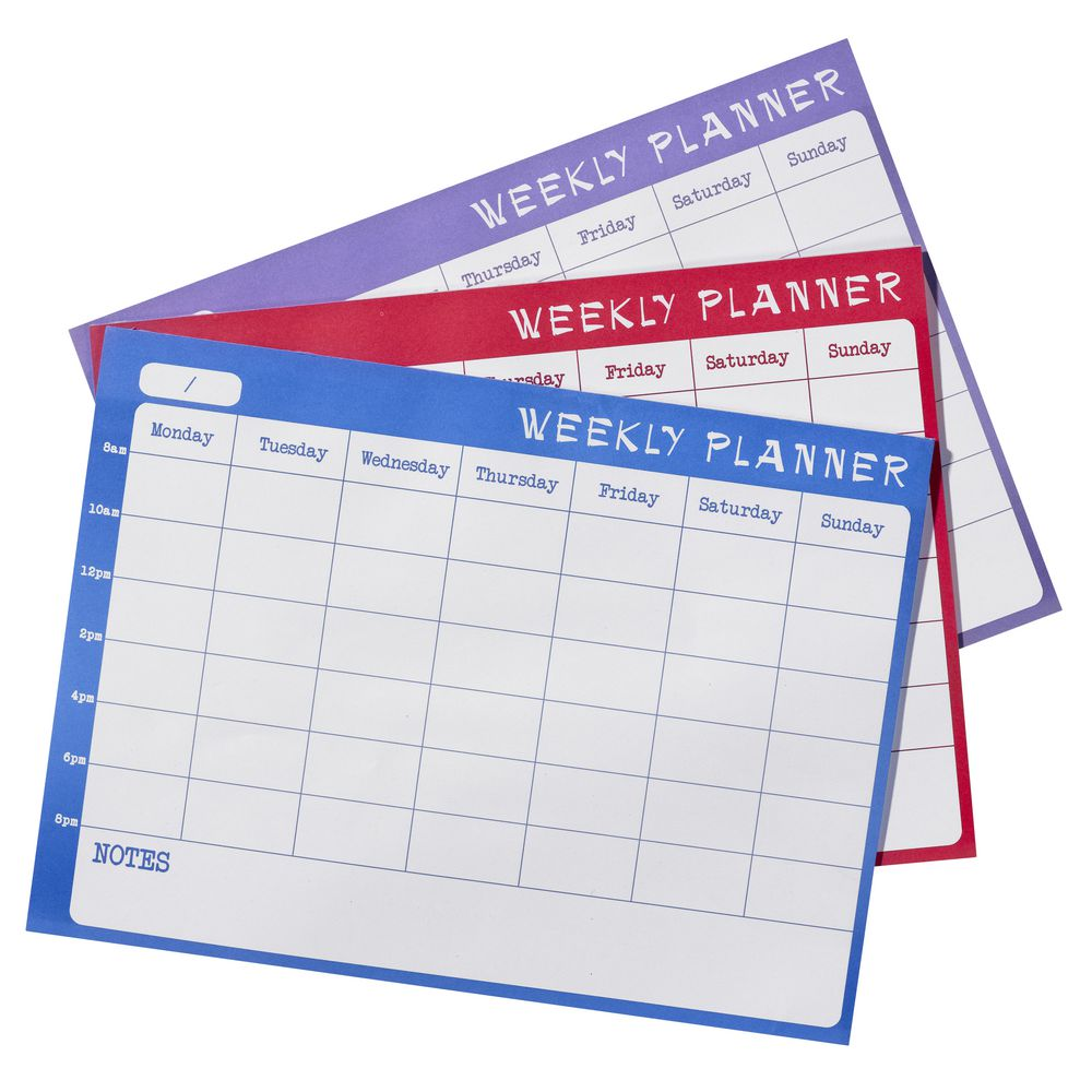 Year Calendar Officeworks : J burrows a weekly undated planner sheets assorted