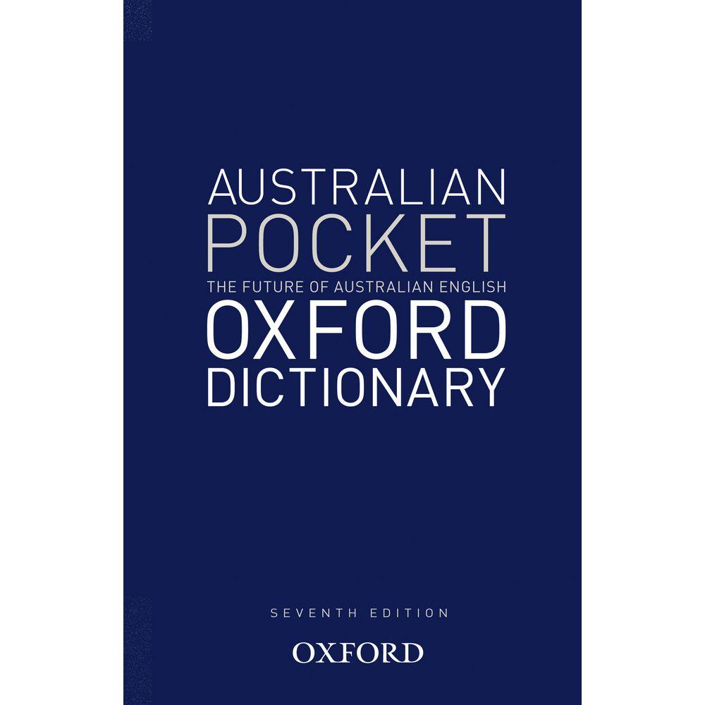 Oxford Australian Pocket Dictionary 7th Edition | Officeworks