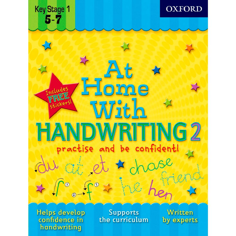 Workbooks key stage 2 workbooks : Oxford At Home With Handwriting 2 Workbook | Officeworks