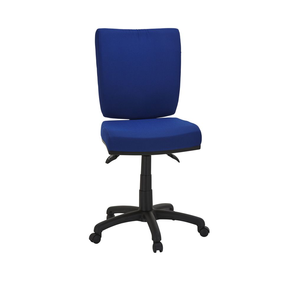Flash Deluxe Chair Blue Officeworks