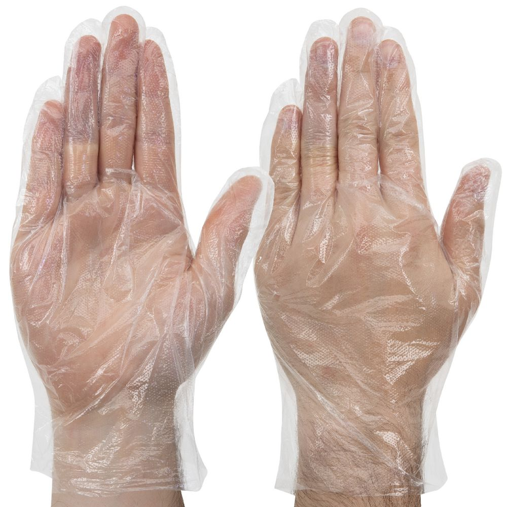 100//Pack Choice Disposable Food Service Poly Gloves