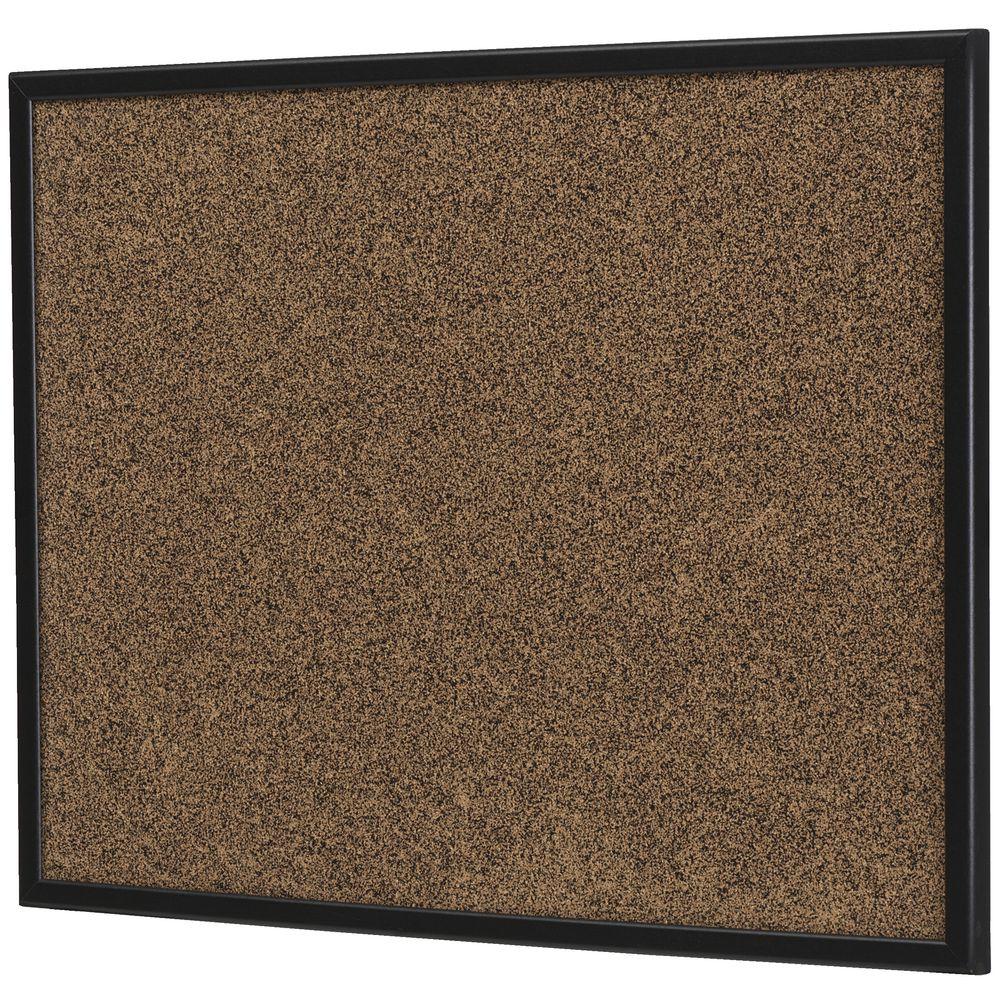 Quartet Black Frame Corkboard 900 X 600mm Officeworks