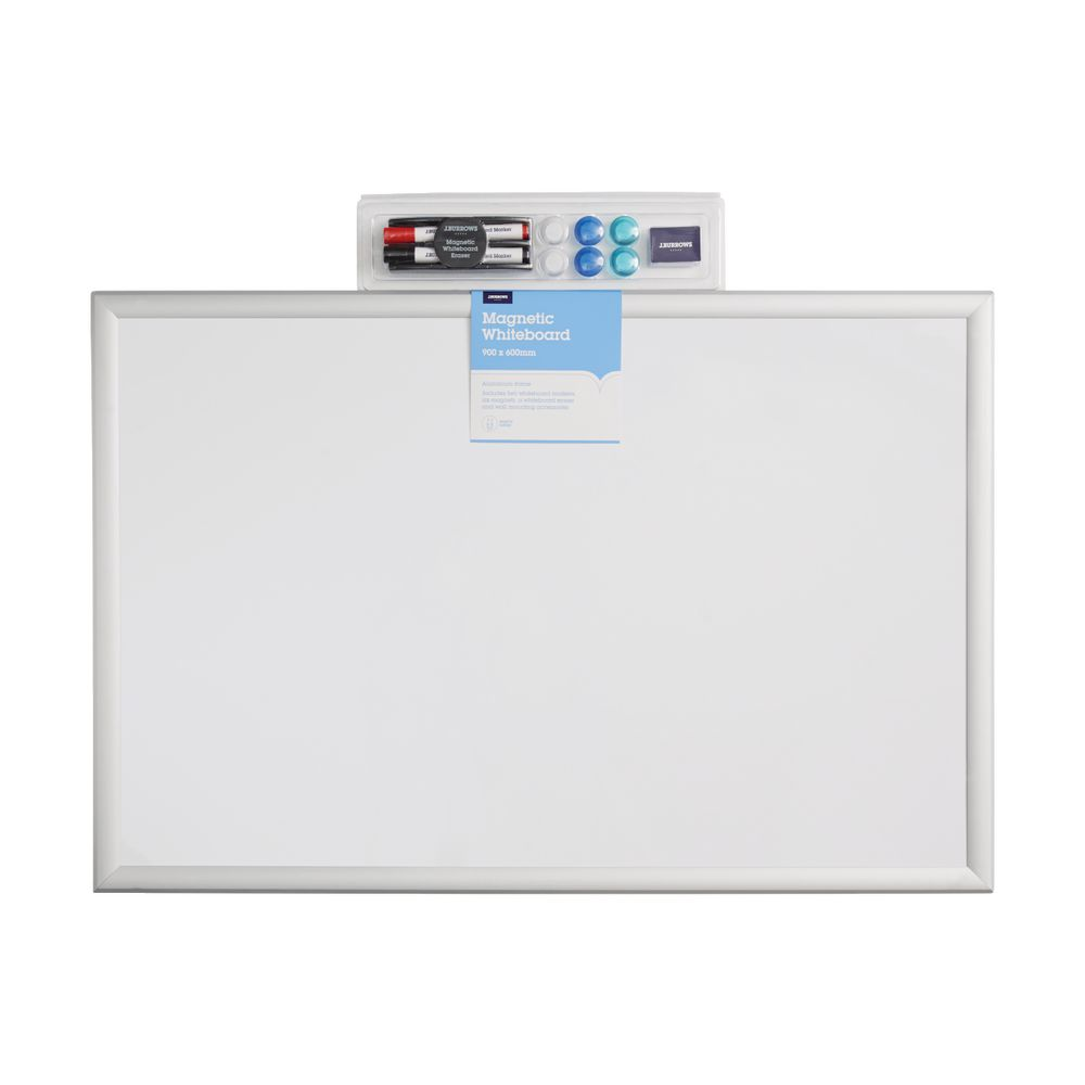 Jburrows Whiteboard And Accessories 900 X 600mm Officeworks