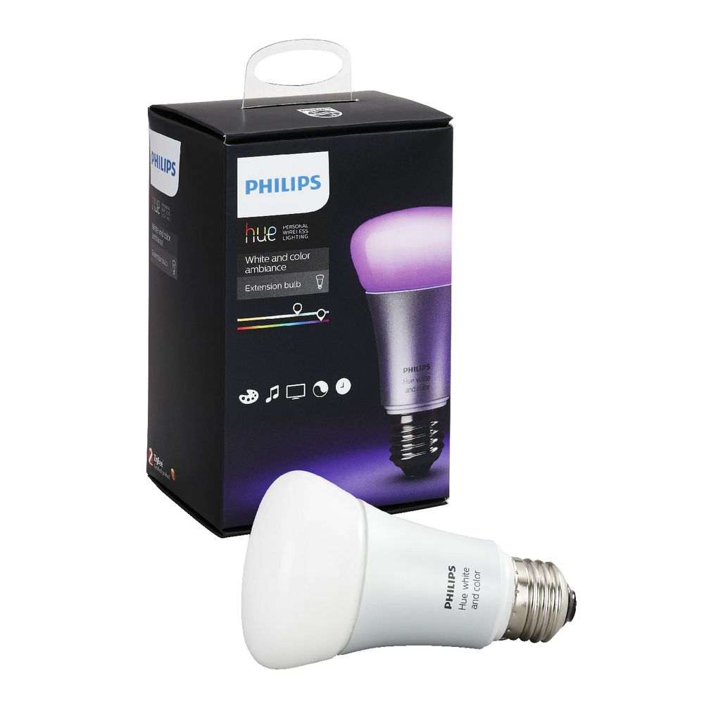 Philips Hue White and Colour Ambience E27 Extension Bulb  5560a447a82b