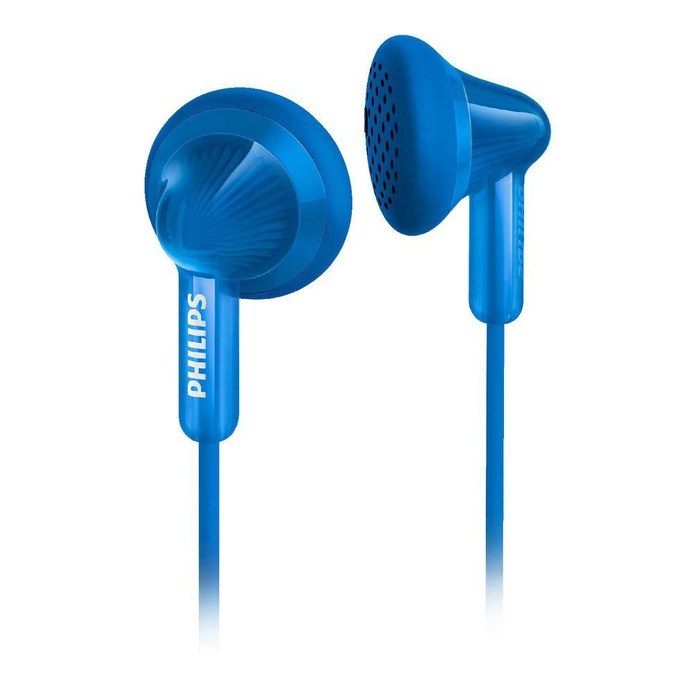 Air Bag Jack >> Philips Earphones Blue SHE3010 | Officeworks