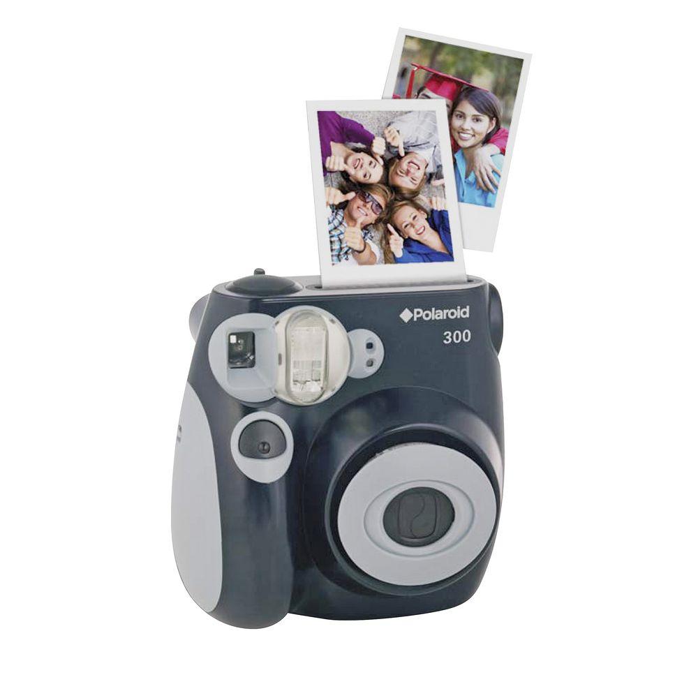 Polaroid Instant Camera Black 300 | Officeworks