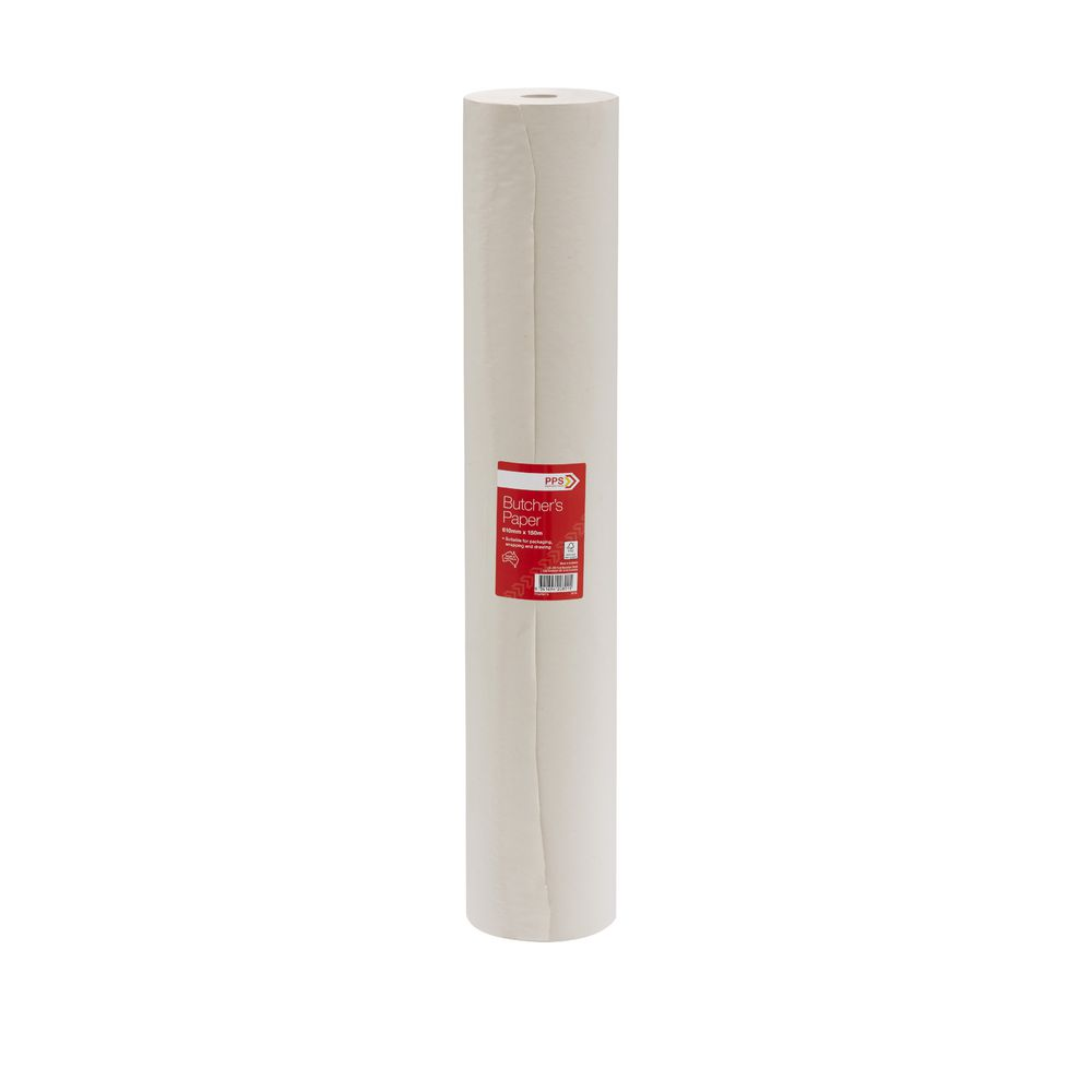 pps 610mm x 150m butchers paper roll