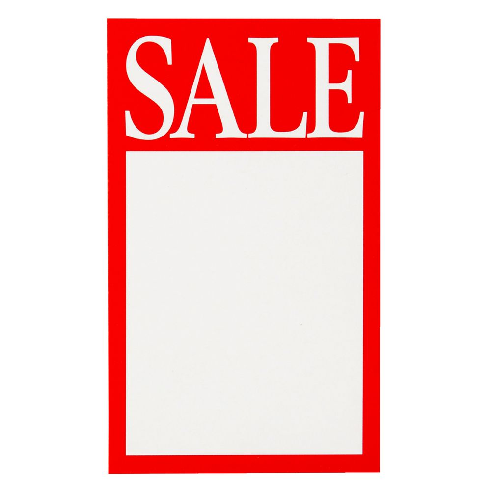 point of sale display template - quikstik sale display tickets 10 pack officeworks