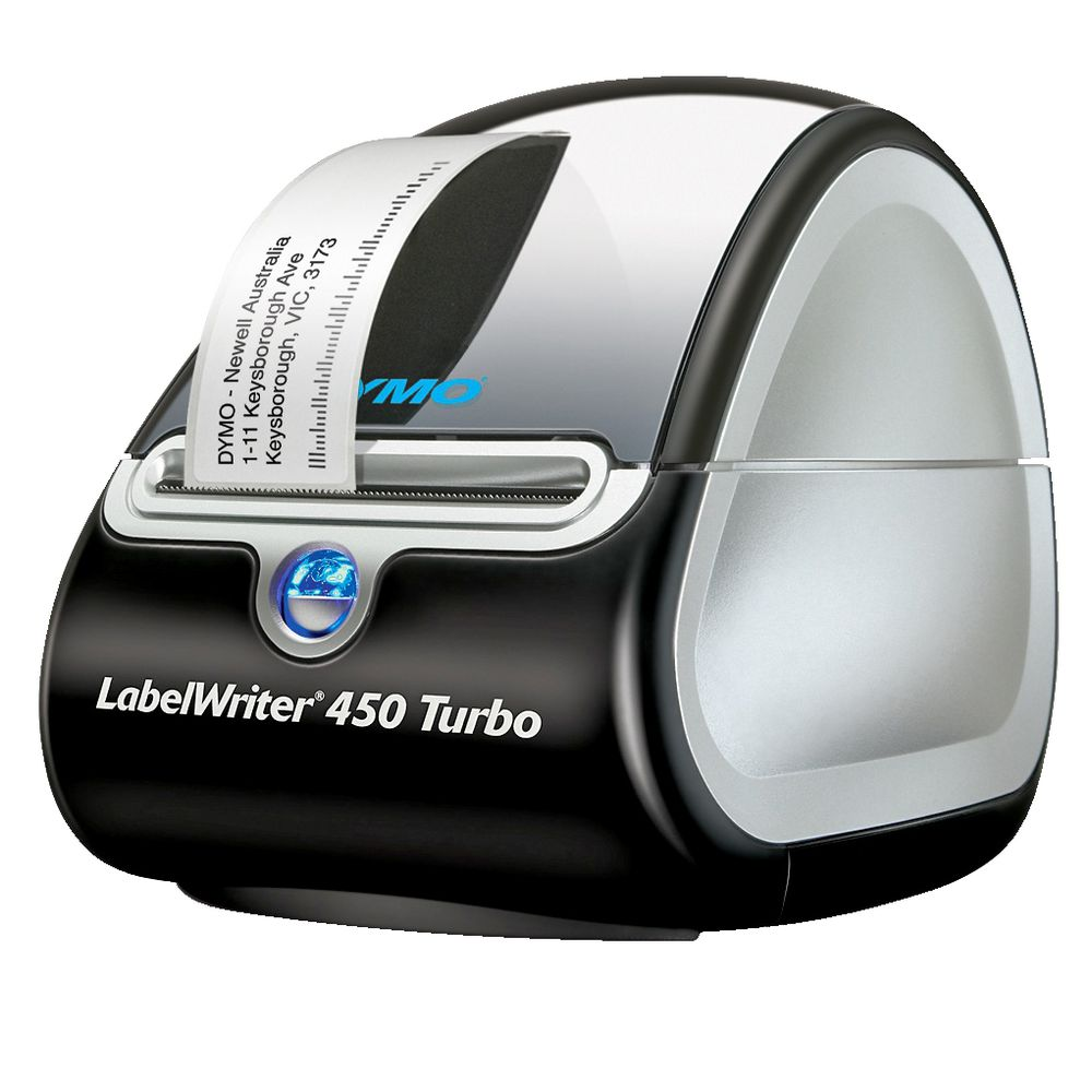 Desktop label makers officeworks dymo labelwriter 450 turbo label maker stopboris Gallery