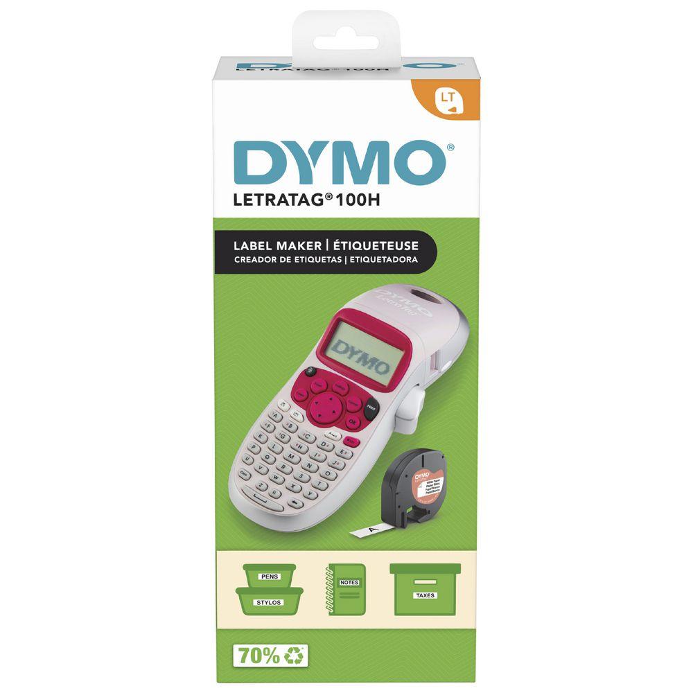 DYMO LetraTag 100H Handheld Label Maker Blue
