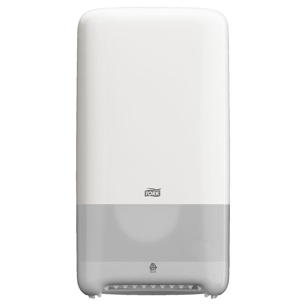 Tork T6 Compact Toilet Paper Roll Dispenser Auto Shift