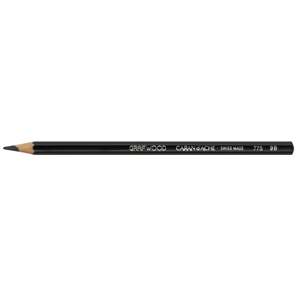 Caran dache grafwood graphite pencil 9b