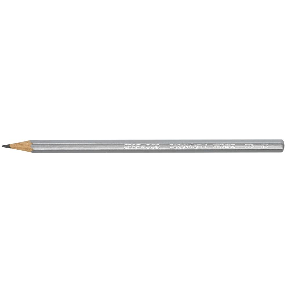 Caran d/'Ache Grafwood Graphite Pencil # 775.254 4B