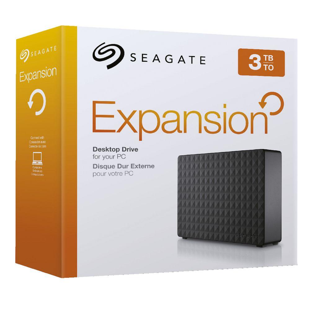Seagate 3tb expansion desktop hard drive officeworks for 3tb esterno