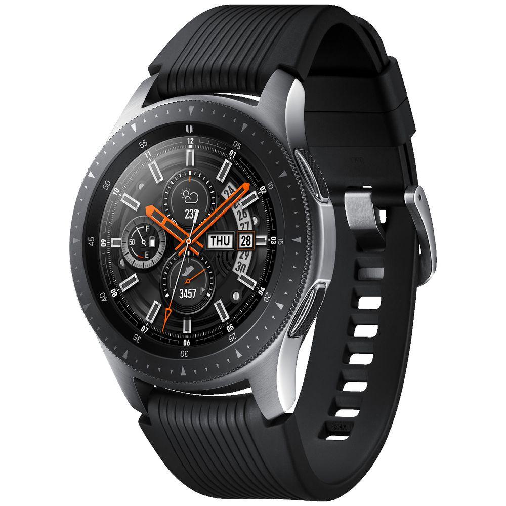 Samsung Galaxy Watch Bluetooth 46mm Silver   Officeworks