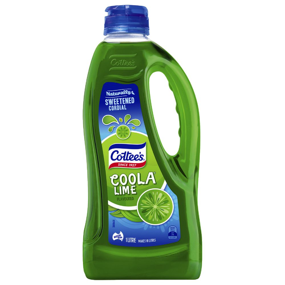 Cottee's Cordial Coola 1L   Officeworks