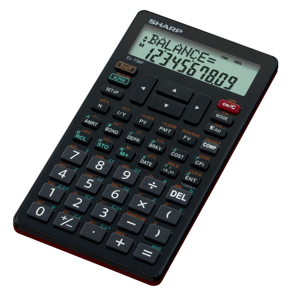 sharp el738fb financial calculator  sharp el738fb financial calculator