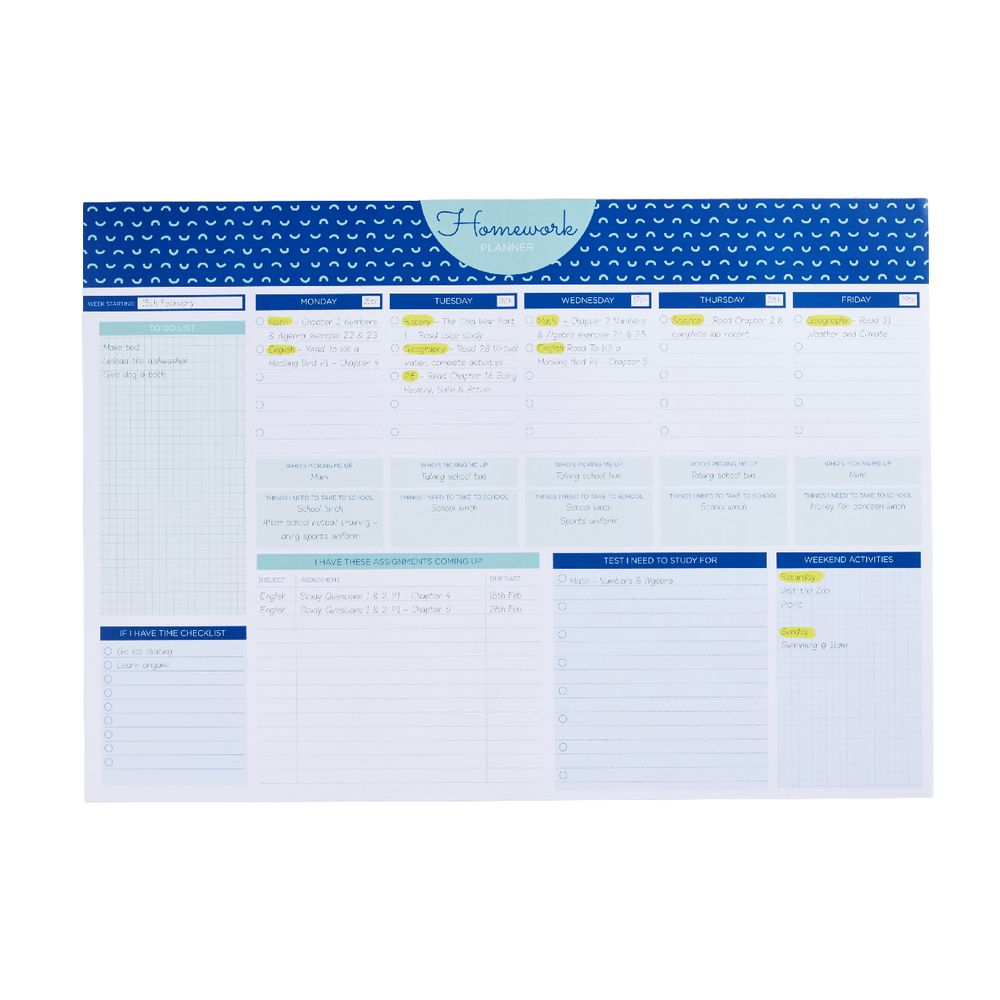 online homework planner Homework planners compiled by: kate26 (they receive an effort grade at the end of each quarter for getting the planner signed and we have students highlight.