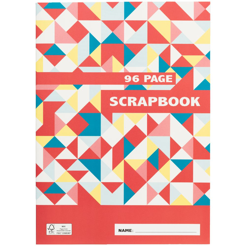 How to refill scrapbook pages - Studymate Premium Design Cover Scrapbook 96 Page