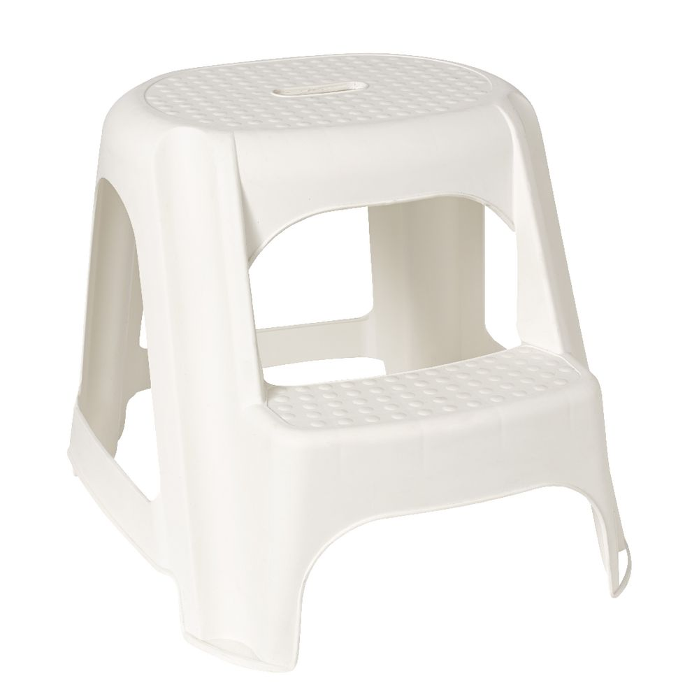 Snazzee 2 Step Stool White  sc 1 st  Officeworks & Snazzee 2 Step Stool White | Officeworks islam-shia.org
